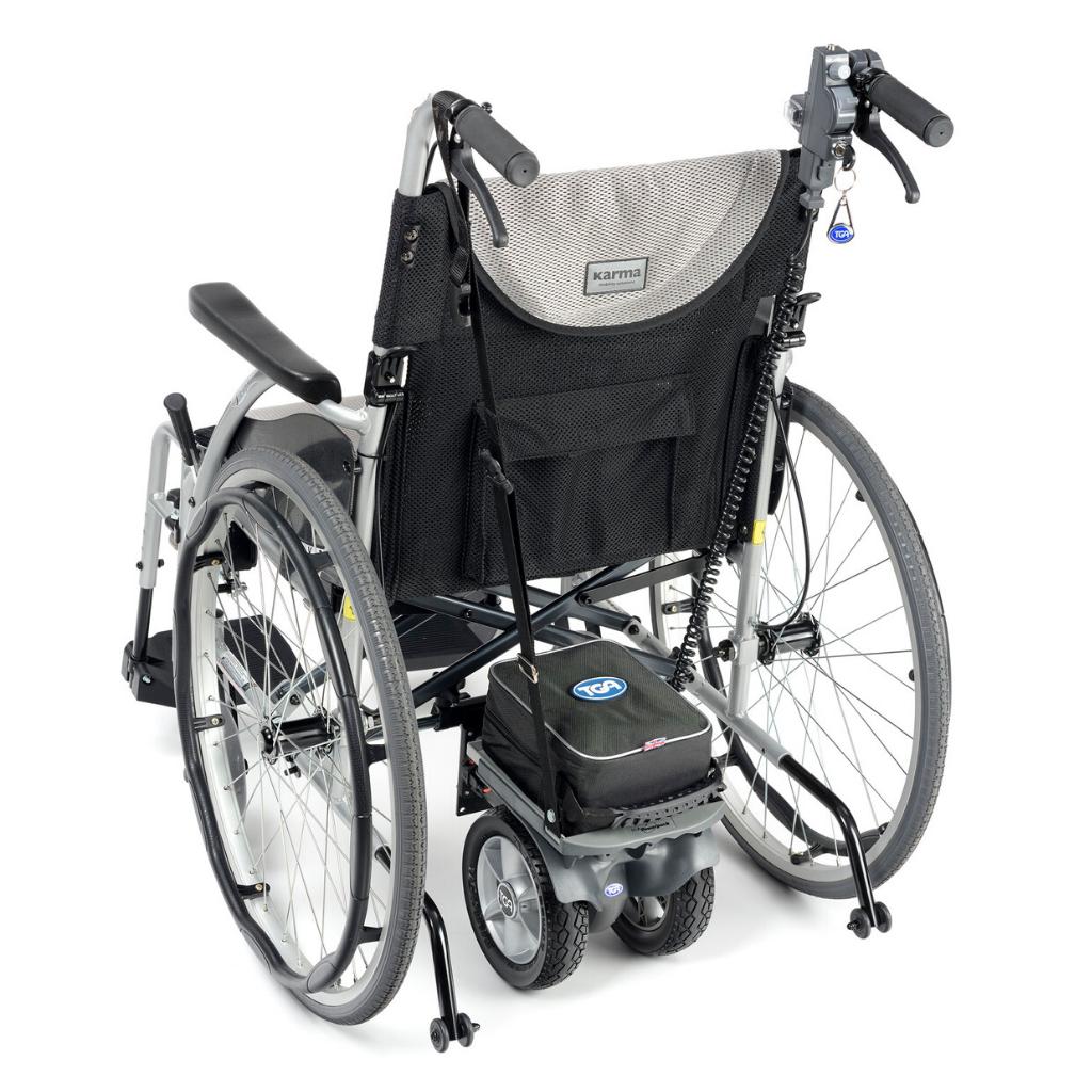 מנוע עזר לכסא גלגלים - Powerpack Duo