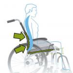 כיסא גלגלים Strongback דגם נהיגה עצמית